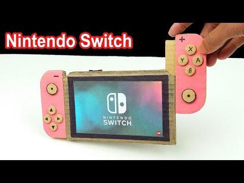 How to make a Nintendo Switch - Diy Nintendo Switch