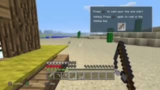 Minecraft: Playstation®4:كنت بصيد سمك بس فاجئ طلعلي كتاب ?