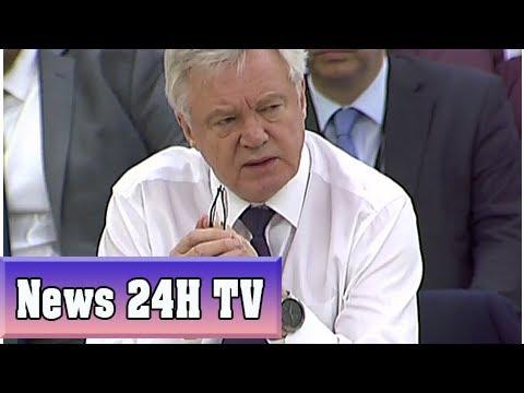 David davis 'risks undermining good faith' in brexit negotiations, angry european parliament warns