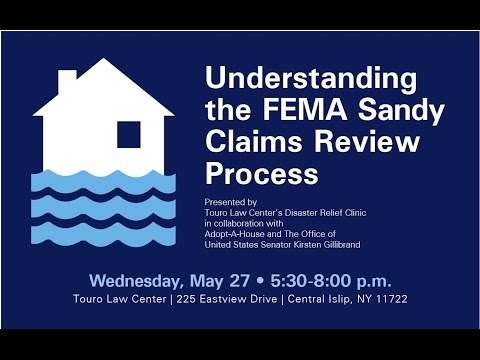 Understanding the FEMA Sandy Claims Review Process