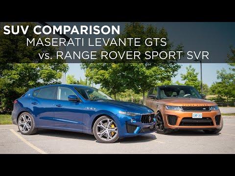 2019 Maserati Levante GTS vs. 2020 Land Rover Range Rover Sport SVR   SUV Comparison   Driving.ca