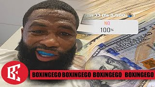 SICKO MODE! ADRIEN BRONER DIRECT MESSAGE TO AL HAYMON & SHOWTIME WANTS 10 MILLION TO FIGHT!