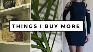 6 THINGS I BUY MORE OF AS A MINIMALIST