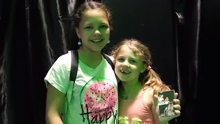 Видео для детей. Ксюша и Настя на квесте.