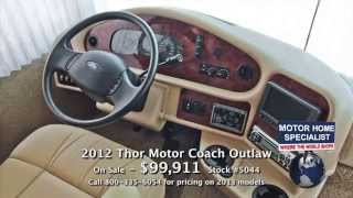 Video NEW Thor Outlaw NOW ONLY $99,911 - 2012 Toy Hauler RV for Sale at Motor Home Specialist #5044 download MP3, 3GP, MP4, WEBM, AVI, FLV Mei 2018