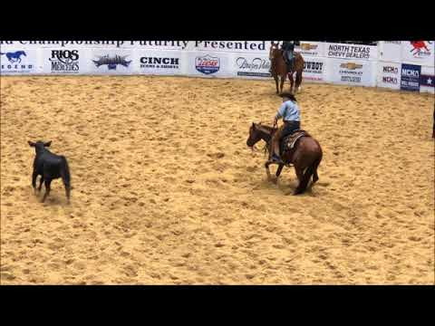 Lee Francois The Animal 2017 NCHA Open Futurity Reserve Champions