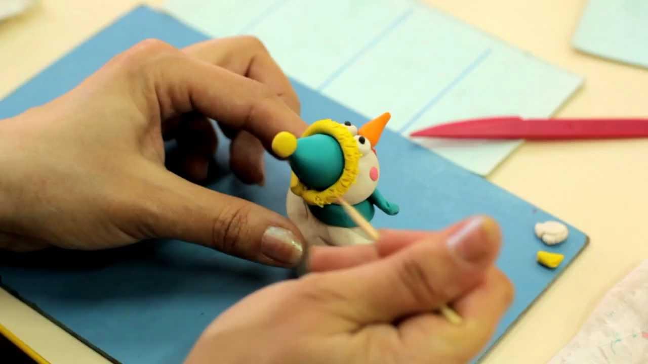 Пластилиновая анимация картинка, внучке бабушки днем