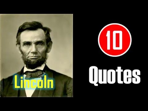 [10 Quotes] Abraham Lincoln - You have to do your own growing