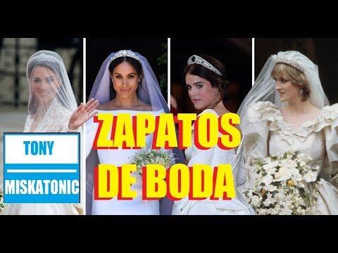 EL CALZADO QUE LUCIERON LAS 'ROYALS' EL DÍA DE SU BODA