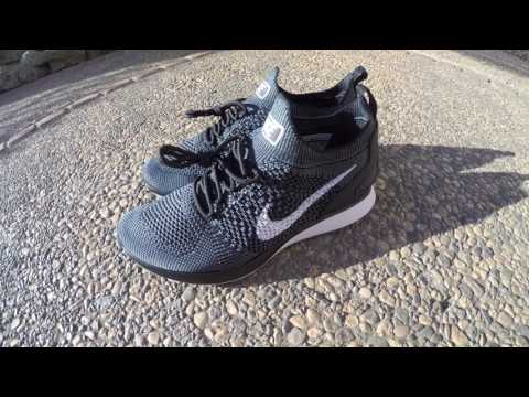 Up Close: Nike Air Zoom Mariah Flyknit Racers: Black