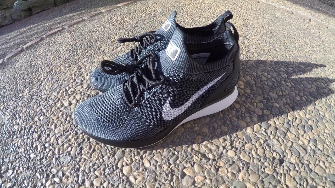 eae763fd832cb Up Close  Nike Air Zoom Mariah Flyknit Racers  Black - YouTube