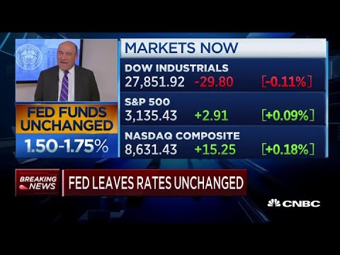 The Fed Leaves Interest Rates Unchanged