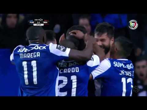 Golo de Diego Reyes: FC Porto (2)-1 Braga (Liga 21ªJ)