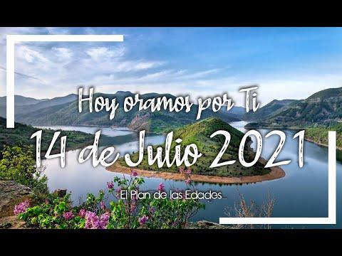 HOY ORAMOS POR TI | JULIO 14 de 2021 |  Oración Devocional |TU RESPUESTA