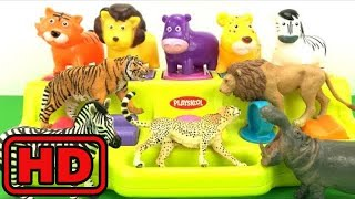 Kid -Kids -Learn ZOO Wild Animals With Fun Toy Cute Animals And Schleich Zoo  Animals/Insects Learn