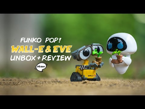 Unboxing + Review   Funko Pop! Wall-e & Eve