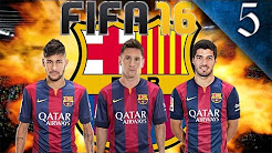 FIFA 16 - BARCELONA CAREER MODE EP. 5 - MANCHESTER CITY CHAMPIONS LEAGUE FINAL!