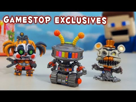 Five Nights at Freddy&39;s Pizzeria Simulator All Gamestop Exclusive Mystery Minis