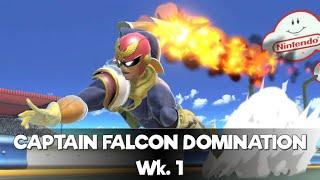 SMASH BROS ONLINE - Captain Falcon Weekly WINS