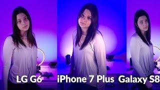 Samsung Galaxy S8 Camera vs iPhone 7 Plus & LG G6!