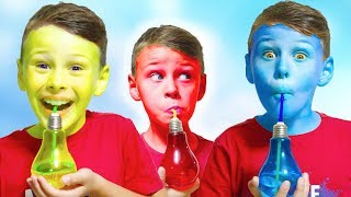 Alinin Sihirli İçecekleri , magic colour drinks