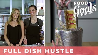 Full Dish Hustle: Rocking Out with Sugar Monster's Geode Cake | Food Network