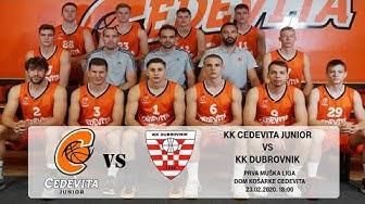 KK CEDEVITA JUNIOR - KK DUBROVNIK 23.02.2020.