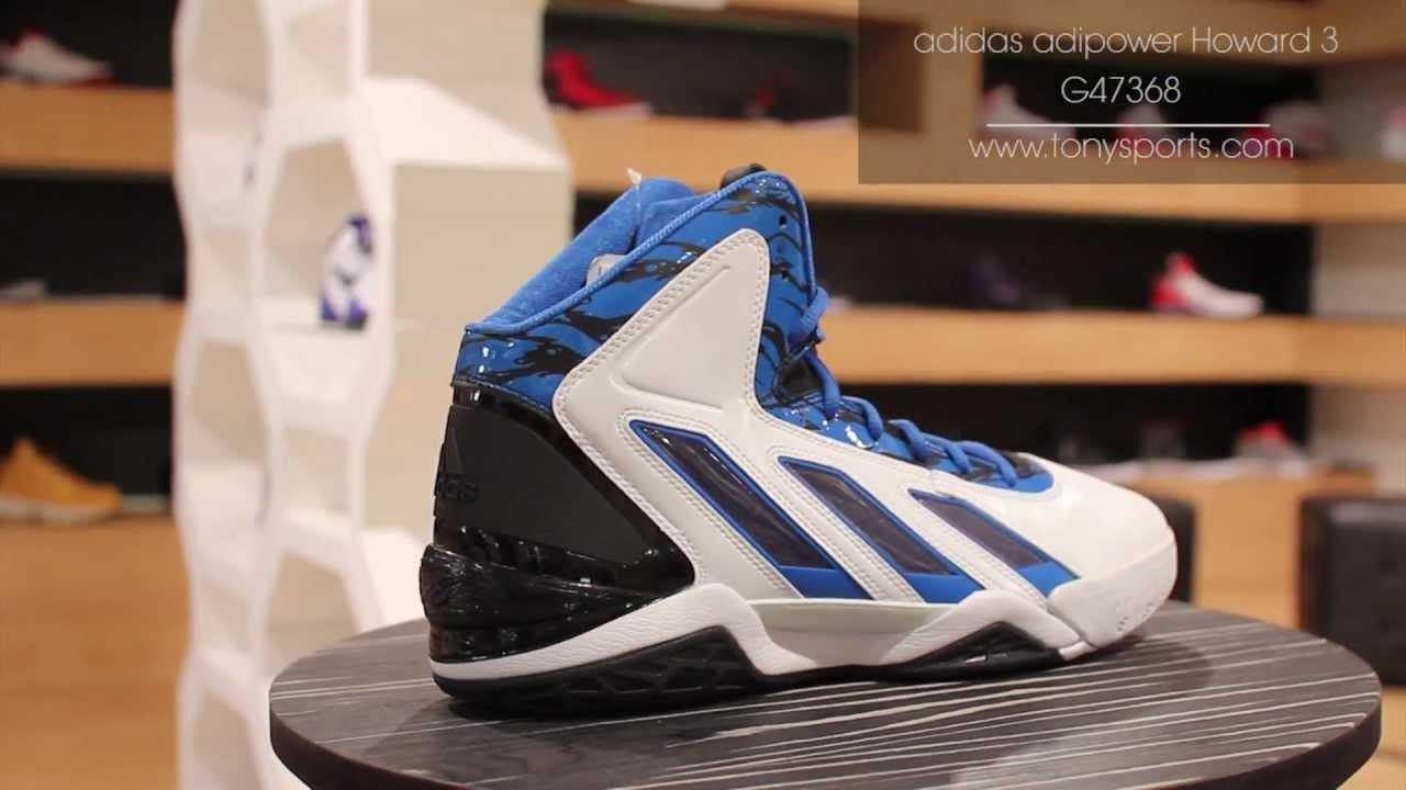 super popular 1f6ad 11e85 adidas adiPower Howard 3 - WhiteBlue - G47368 www.tonysports.com