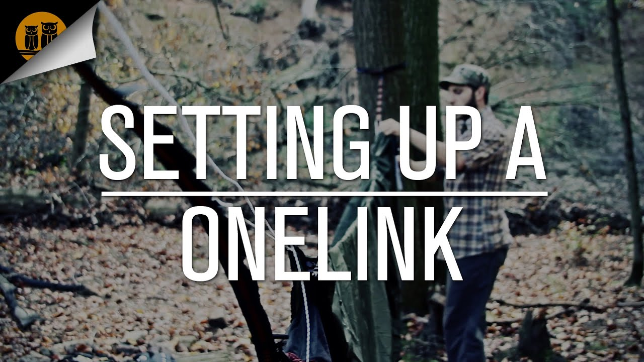 How To Setup The Eno Onelink Hammock Sleep System