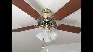 Hunter Mayfair ceiling fan (with light kit)