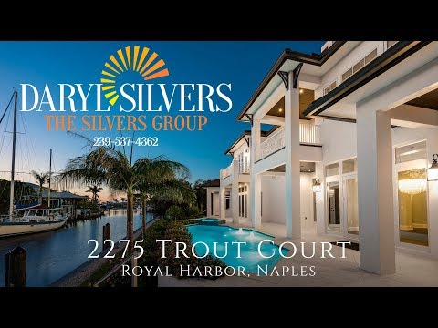 2275 Trout Court, Royal Harbor, Naples - The Silvers Group