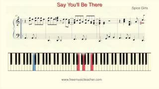 "How To Play Piano: Spice Girls ""Say You"