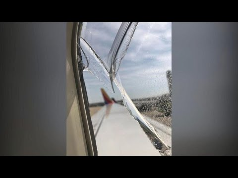 Window crack on Southwest Airlines forces emergency landing
