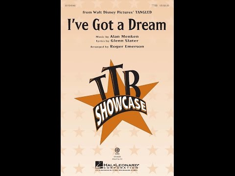 I've Got A Dream - Arranged by Roger Emerson