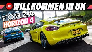 FORZA HORIZON 4 Livestream | Willkommen in Großbritannien | Lets Play Deutsch | PC Gameplay German