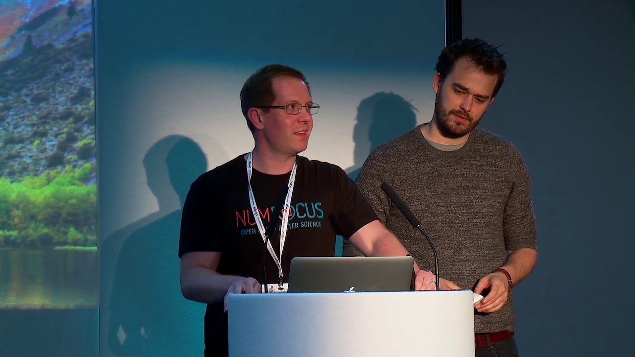 Image from PyData London 2018 Lightning Talks - Day 1