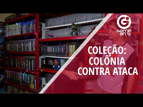 A coleção de games do canal Colônia Contra Ataca com Sr. Wilson e Fresh!