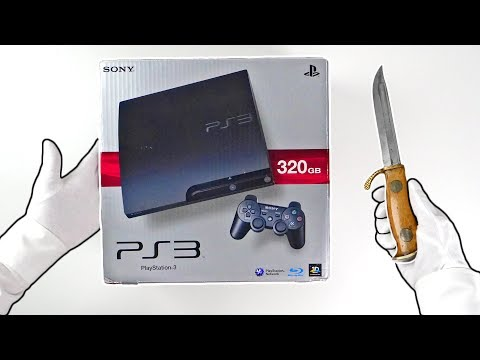 PS3 SLIM UNBOXING! Sony Playstation 3 Console in 2019...