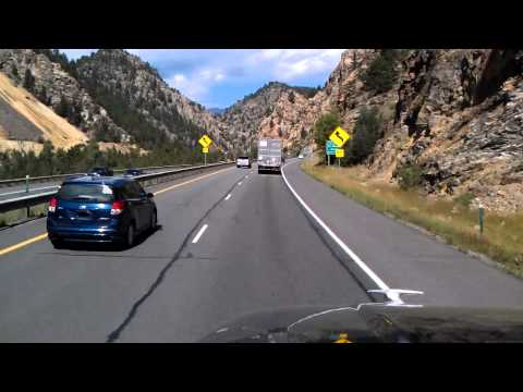 Interstate 70 near Idaho Springs, Colorado