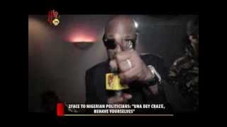 HIP TV NEWS - 2FACE TO NIGERIA POLITICIANS: