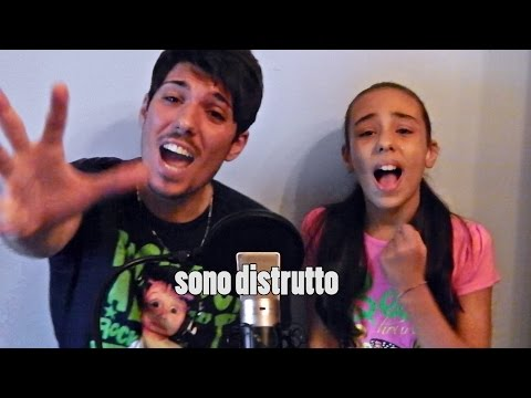 FADED - ALAN WALKER ( italian cover / traduzione ) with my sister