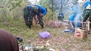 PERTIWIKADA JATENG 2014, Krida Survival : cara bertahan hidup dihutan