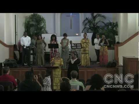 Prayer for Congo at the African Community Church-Los Angeles