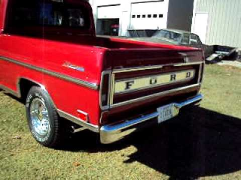 1968 Ford F100 Ranger Youtube