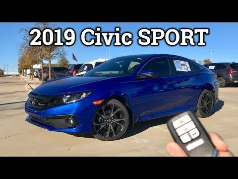 REFRESHED: 2019 Honda Civic Sport Review & Drive