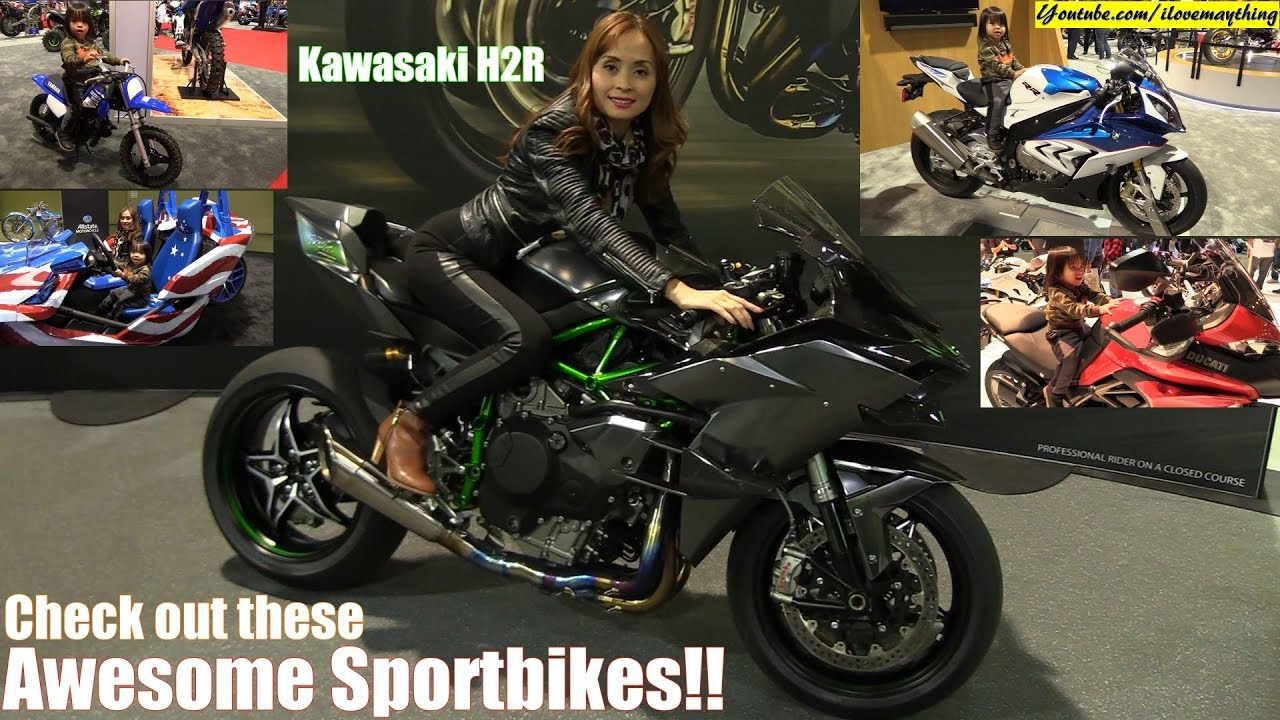 2017 kawasaki ninja h2r, ducati supersport s, yamaha r6 and more