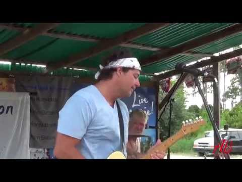 John Sutton Band LIVE at Eddy Teach's on St. George Island, FL - July 2014