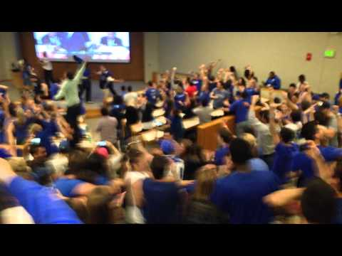 The Fuqua School of Business celebrates Duke winning NCAA Championship against Wisconsin