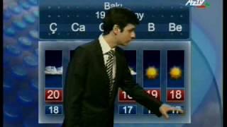 Repeat youtube video Прогноз погоды на Азербайджанском Телевидении