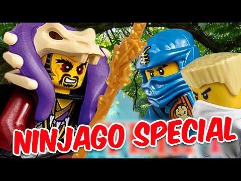 LEGO NINJAGO SPECIAL - Angriff auf den Tempel der Anacondrai - Pandido